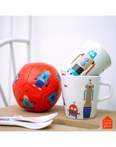 Podkładka, mata na stół, seria Roboty   Maison Petit Jour®
