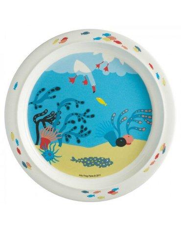 Talerz fi 21 cm dla maluszków, seria Morze | Maison Petit Jour®