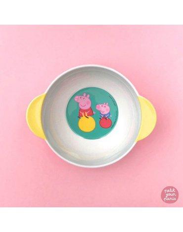 Miseczka dla dzieci z uchwytami, Świnka Peppa   Petit Jour Paris®