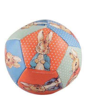 Miękka, piłka fi 10 cm dla małych dzieci, Królik Piotruś | Petit Jour Paris®