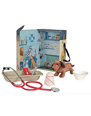 Mały weterynarz, zestaw w walizce | Egmont Toys®