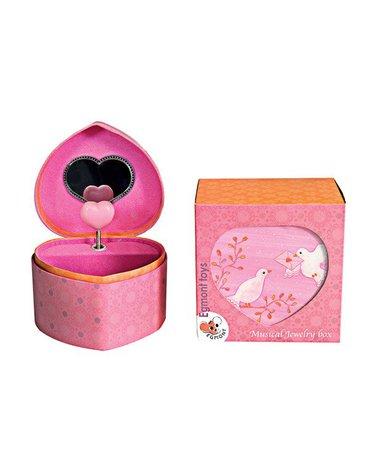 Pozytywka - szkatułka z serduszkiem, Dove   Egmont Toys®