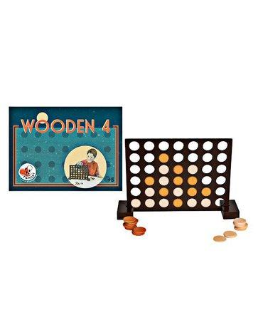 Cztery w rzędzie, drewniana gra | Egmont Toys®