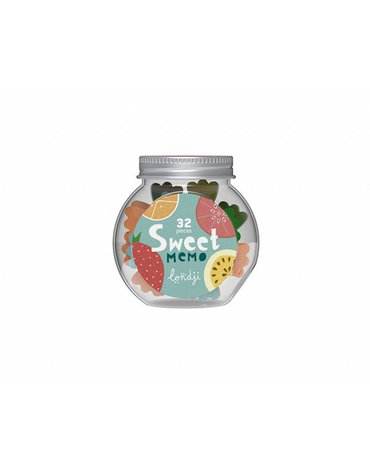 Memo mini, Słodycze w słoiczku | Londji®