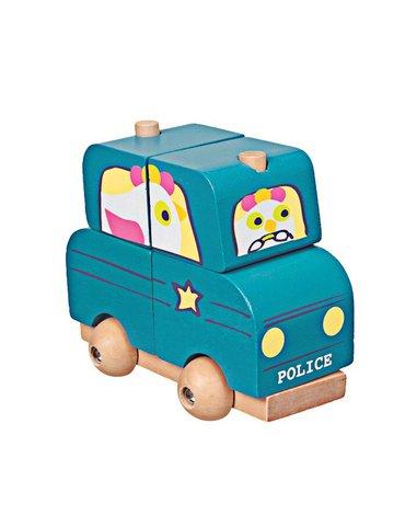 Drewniana układanka - policja   Egmont Toys®