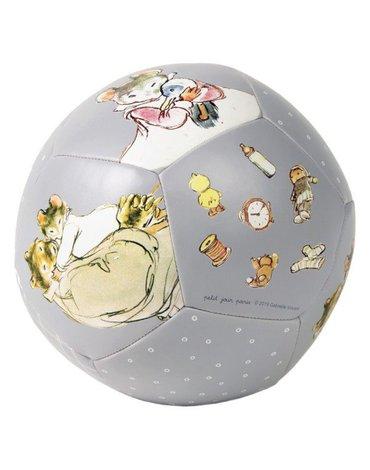 Miękka, piłka fi 15 cm dla małych dzieci, Ernest i Celestyna | Petit Jour Paris®