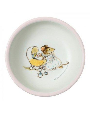 Miseczka dla dzieci z melaminy, Ernest i Celestyna | Petit Jour Paris®