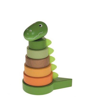 Wieża drewniana, dinozaur Artur   Egmont Toys®