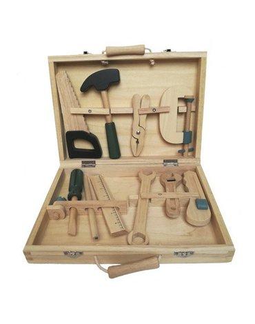 Drewniane narzędzia do zabawy w walizce   Egmont Toys®