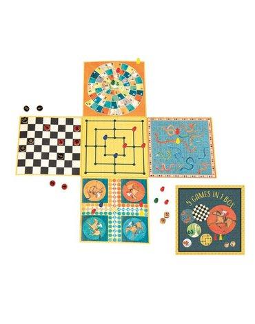 Planszowe gry rodzinne 5 w 1 | Egmont Toys®