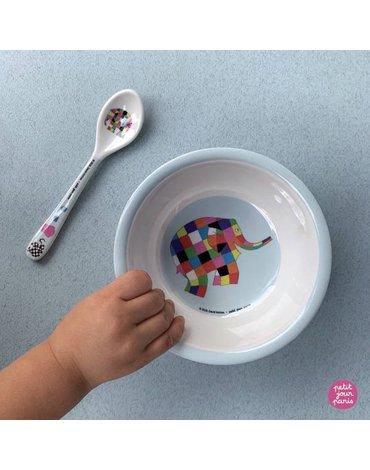 Elmer - Łyżeczka melaminowa dla dzieci   Petit Jour Paris®