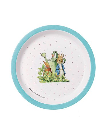 Talerzyk deserowy fi 18 cm, Królik Piotruś   Petit Jour Paris®
