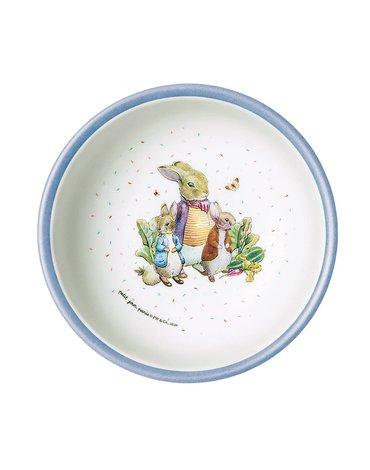 Miseczka dla dzieci z melaminy, 250 ml Królik Piotruś   Petit Jour Paris®