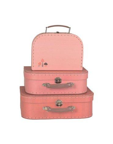 Zestaw walizek 3 szt z grafiką z grzybkami   Egmont Toys®