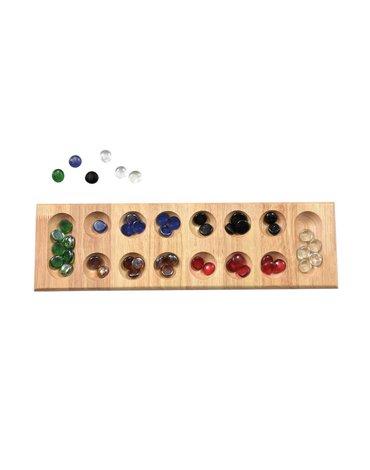 Mancala - drewniana gra strategiczna i logiczna | Egmont Toys®