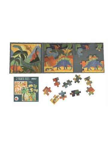 Puzzle magnetyczne Dinozaury | Egmont Toys®