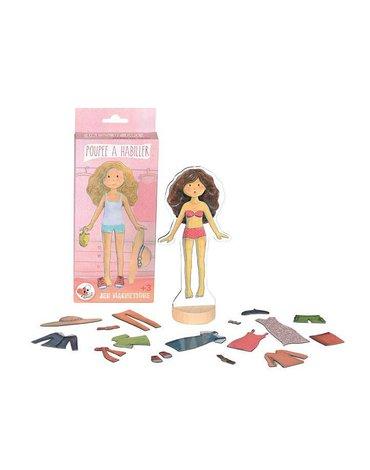 Magnetyczna ubieranka laleczka   Egmont Toys®
