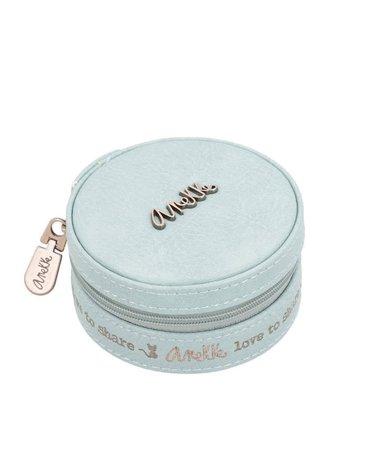 Pudełko na biżuterię niebieskie   Anekke®