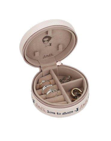 Pudełko na biżuterię różowe   Anekke®