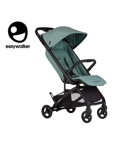 Easywalker Miley Kompaktowy wózek spacerowy ze zintegrowaną torbą transportową Coral Green