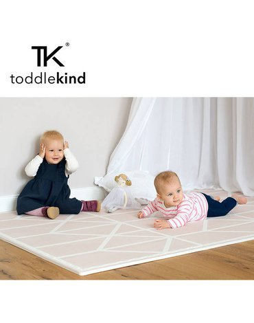 TODDLEKIND Mata do zabawy piankowa podłogowa Prettier Playmat Nordic Vintage Nude Pink