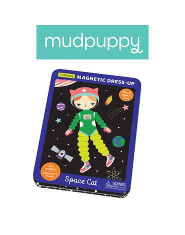Mudpuppy Magnetyczne postacie Kosmiczny kot 4+