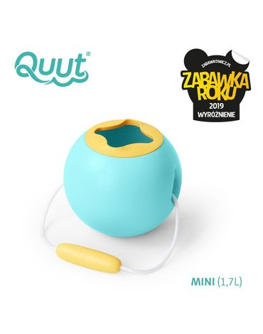 QUUT Małe wiaderko wielofunkcyjne Mini Ballo Banana Blue