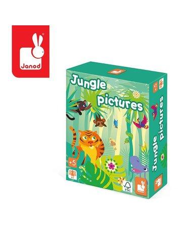 Gra pamięciowa Obrazki z dżungli, Janod