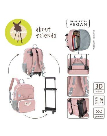 Lassig Plecak - walizka na kółkach 2w1 About Friends Szynszyla