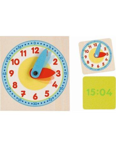 Goki® - Zegar do nauki godzin mały