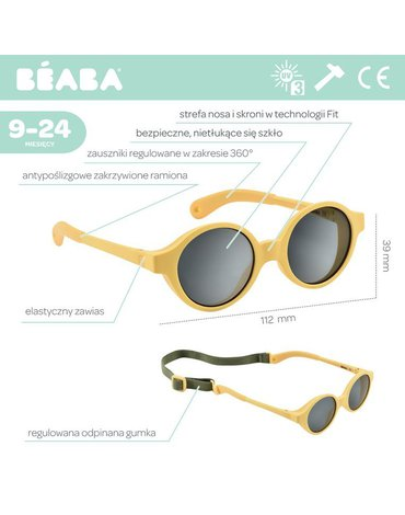 Beaba Okulary przeciwsłoneczne dla dzieci 9-24 miesięcy Pollen