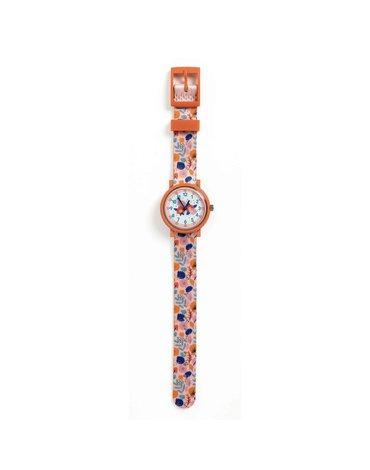 Djeco - Zegarek dziecięcy KWIATKI  DD00430
