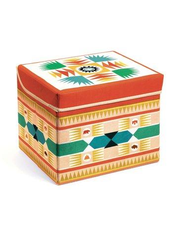 Djeco - Materiałowe pudełko siedzisko TIPI DD04482
