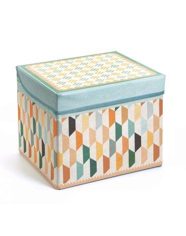 Djeco - Materiałowe pudełko siedzisko ORIENTALNE DD04484
