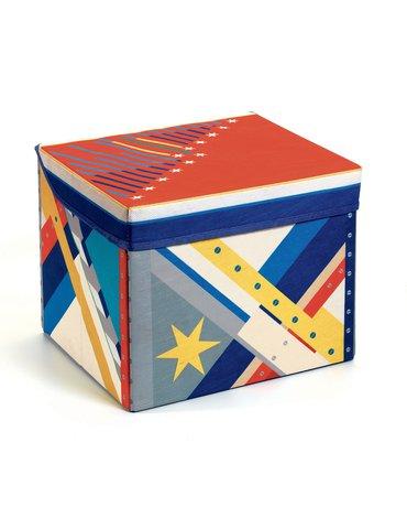 Djeco - Materiałowe pudełko siedzisko RAKIETA  DD04485