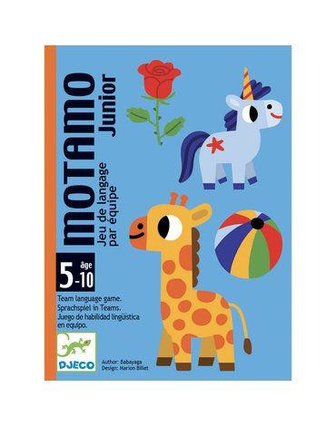 Djeco - Gra karciana MotaMo Junior  DJ05094