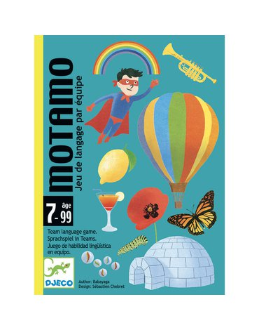 Djeco - Gra karciana MotaMo  DJ05095