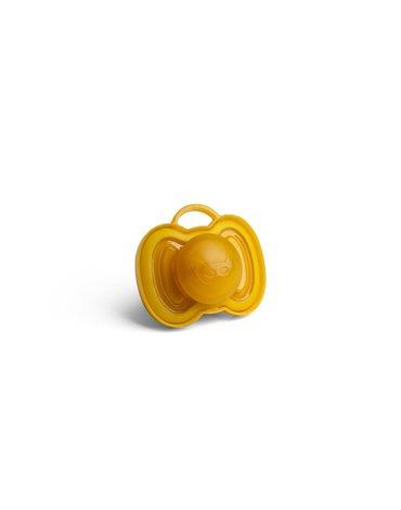 Herobility - smoczek uspokajający HeroPacifier, 0 m+, musztardowy
