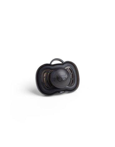 Herobility - smoczek uspokajający HeroPacifier, 6 m+, czarny