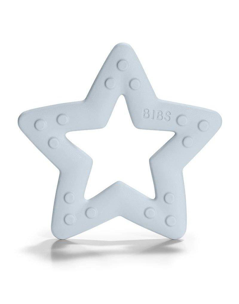 BIBS Baby Bitie STAR Baby Blue gryzak dla niemowlaka