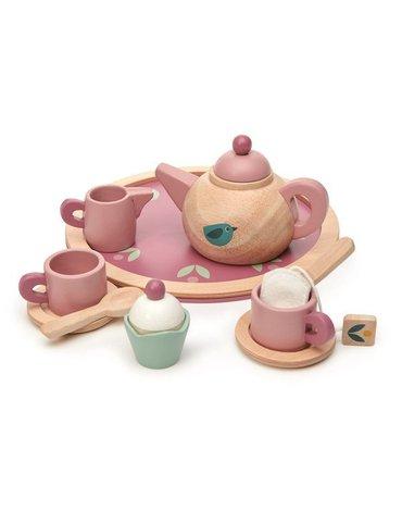 Drewniany serwis do herbaty, Mini Chef, Tender Leaf Toys