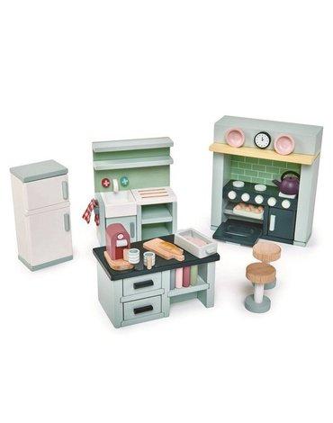 Drewniane meble do domku dla lalek - kuchnia, Tender Leaf Toys