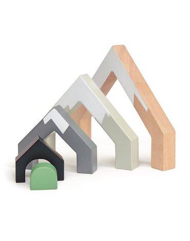 Drewniane akcesoria do kolejki - Górski przejazd, Tender Leaf Toys