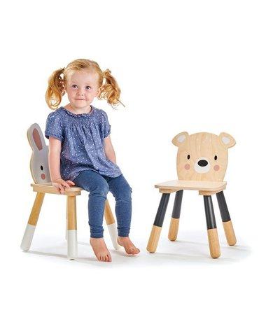 Stolik i dwa krzesełka do pokoju dziecięcego, kolekcja mebli Forest, Tender Leaf Toys