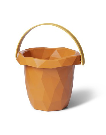 Wiaderko do piasku Zsilt - Happy Orange