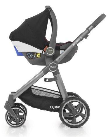 Adaptery fotelika samochodowego do wózka Oyster 3 - BeSafe,Maxi-Cosi