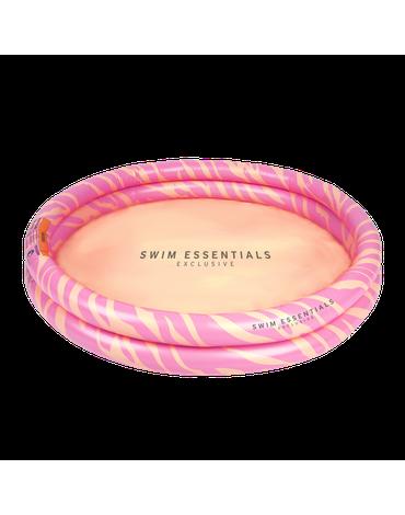 The Swim Essentials Basen kąpielowy Pastelowa Zebra 100cm 2020SE132