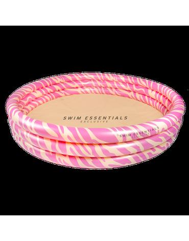 The Swim Essentials Basen kąpielowy Pastelowa Zebra 150cm 2020SE119