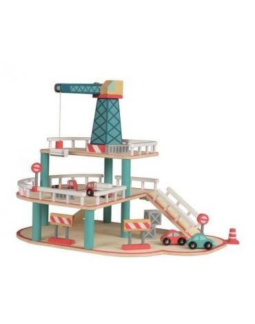 Egmont Toys® - Drewniany garaż z samochodami | Egmont Toys