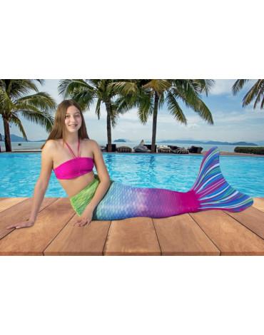 Kuaki Mermaids - Monopłetwa ogon syreny Capri